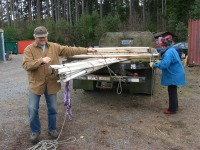 hoophouse-on-flatbed