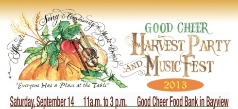 Harvest Party 2013 banner