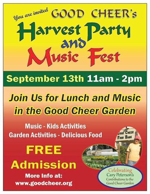 harvest party flyer